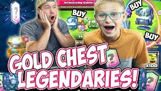 MY SON GETS SO MANY LEGENDARIES in THE GOBLIN CAGE CHALLENGE! We BOTH TRY IT!