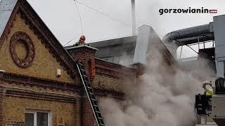 W Gorzowie płonęły archiwalne dokumenty