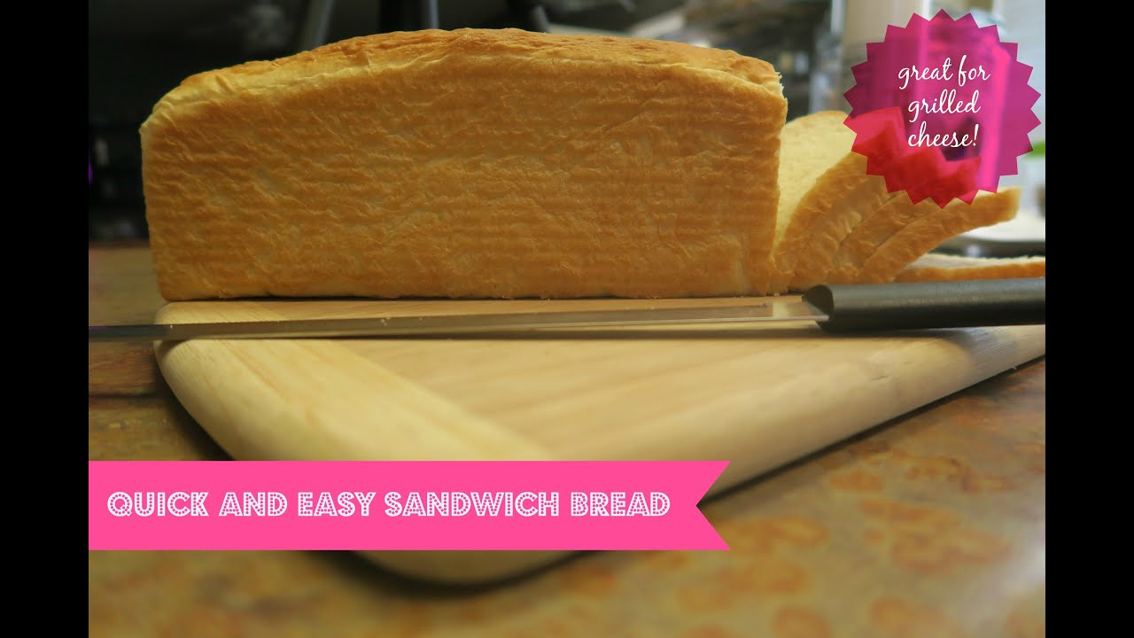 how to make quick and easy sandwich bread kitchenaid proline 7