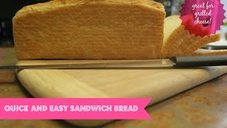 HOW TO MAKE SANDWICH BREAD | KITCHENAID PROLINE 7 QT | COOK WITH ME