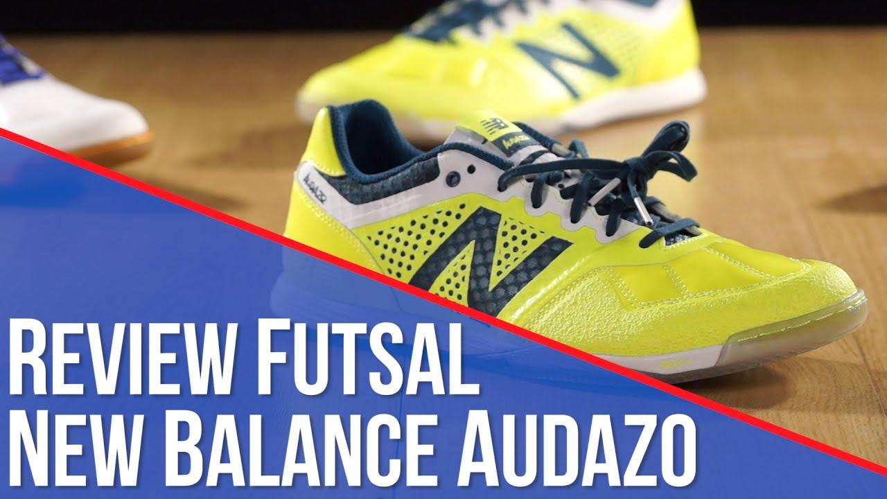 el plastico Templado musical  Review Futsal New Balance Audazo - YouTube