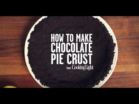 Making Chocolate Pie Crust