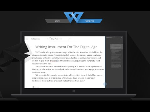 Review: Write! - Stylish Distraction-Free Word Processor for Writing Productivity