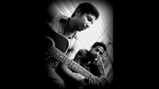 Keno Dure Thako~Teertha Ft. Partha (guitar version...................................!!!!).wmv