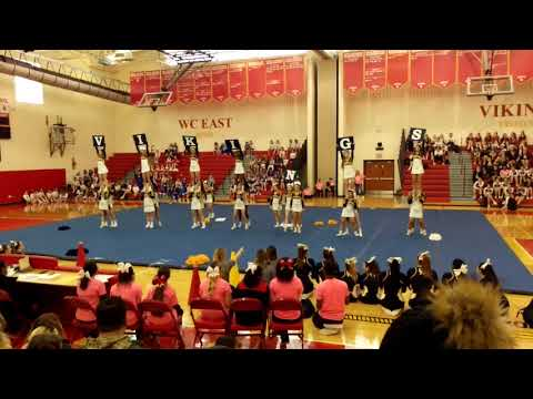 Upper Merion Vikings Varsity Cheer Competition  at West Chester East High School 1/13/18
