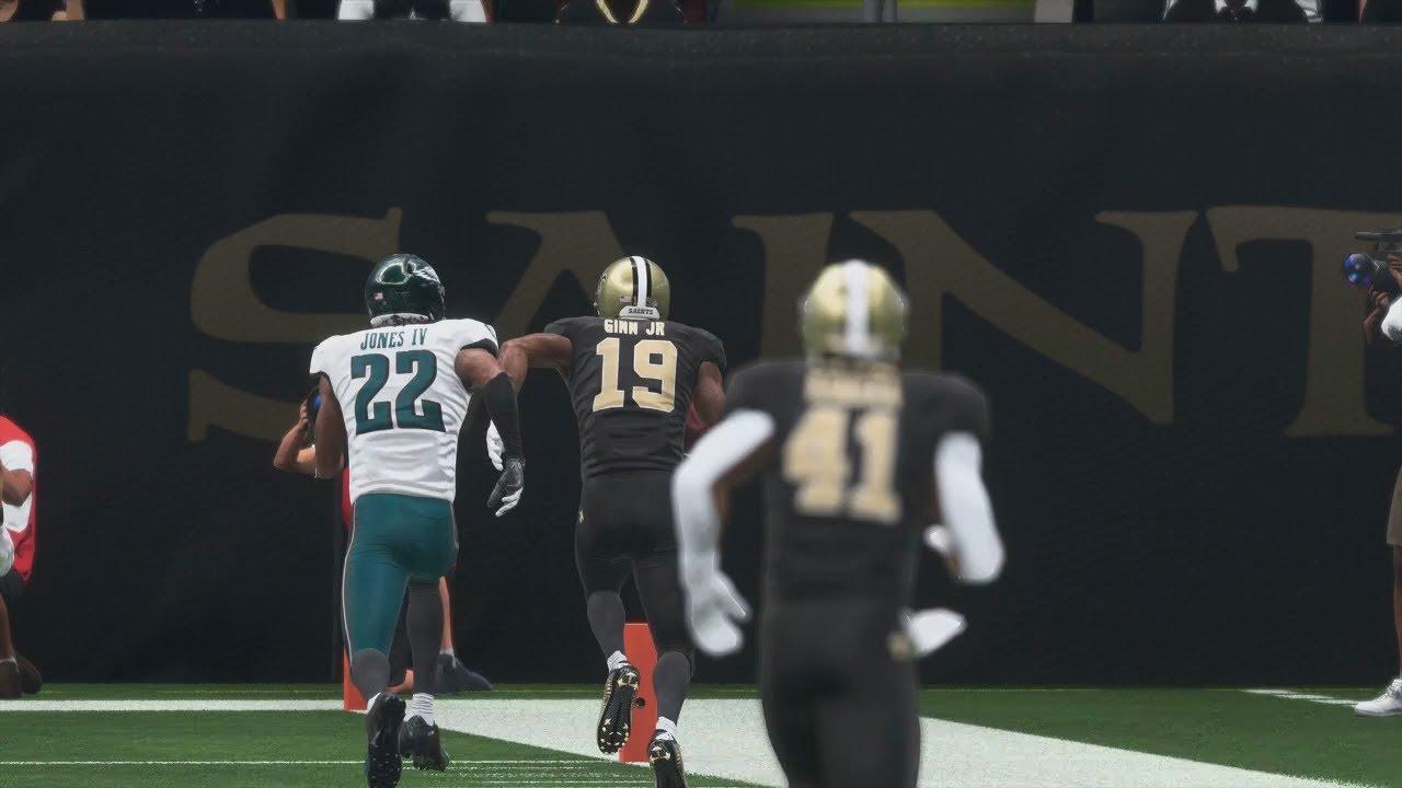 New Orleans Saints vs Philadelphia Eagles NFL Sunday 1 13 2019 Eagles vs  Saints Full Game a30930a4fce1