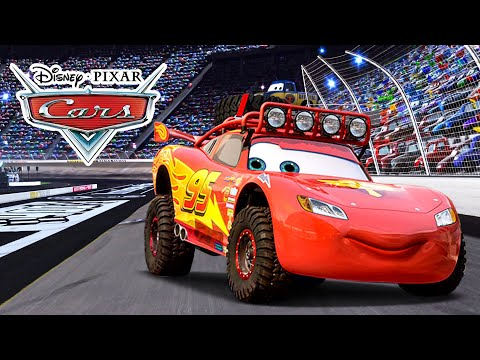 Cars movie character lightning mcqueen best friend - Flash mcqueen film gratuit ...