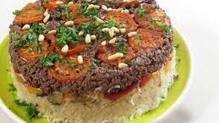 الطريقة الأصلية لعمل المقلوبة باللحم أو الدجاج من مطبخ فتافيتو Fatafeeto Kitchen