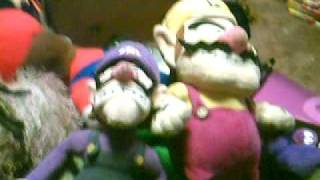 wario and waluigi vs mario and luigi