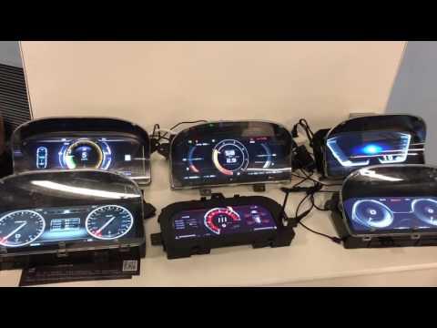Auto.io Qt based cluster showcase