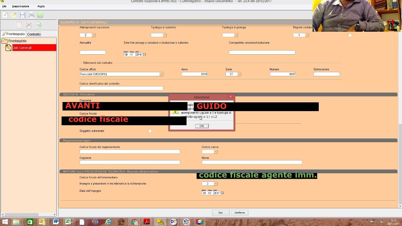 009 Rli Online Agenzia Entrate Tutorial Proroga Tardiva In Cedolare Secca Con Sanzione