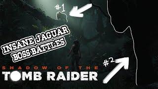 Tomb Raider vs Jaguar Gameplay! INSANE BOSS BATTLE!