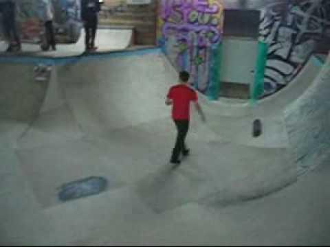 Skatehalle Berlin Skateboard with friends by Sun Radio Ibiza TV