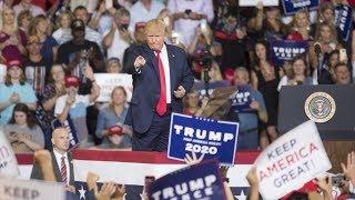 Trump rally roar 'Send her back'