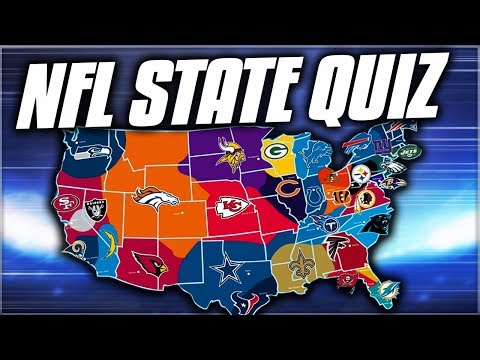 NFL STATE QUIZ CHALLENGE!