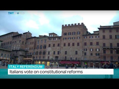 Italy Referendum: Italians vote on constitutional reforms