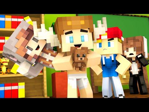 Minecraft Kindergarten - NEW FRIENDS, PSYCHOS, AND BULLIES ?! (Minecraft Roleplay) #1