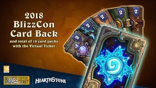 BlizzCon 2018 Virtual Ticket - Hearthstone: In-Game Item Reveal (EU)