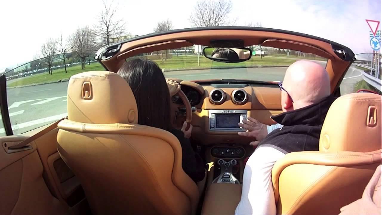 PUSH START 2014 Ferrari California 試乗 - YouTube