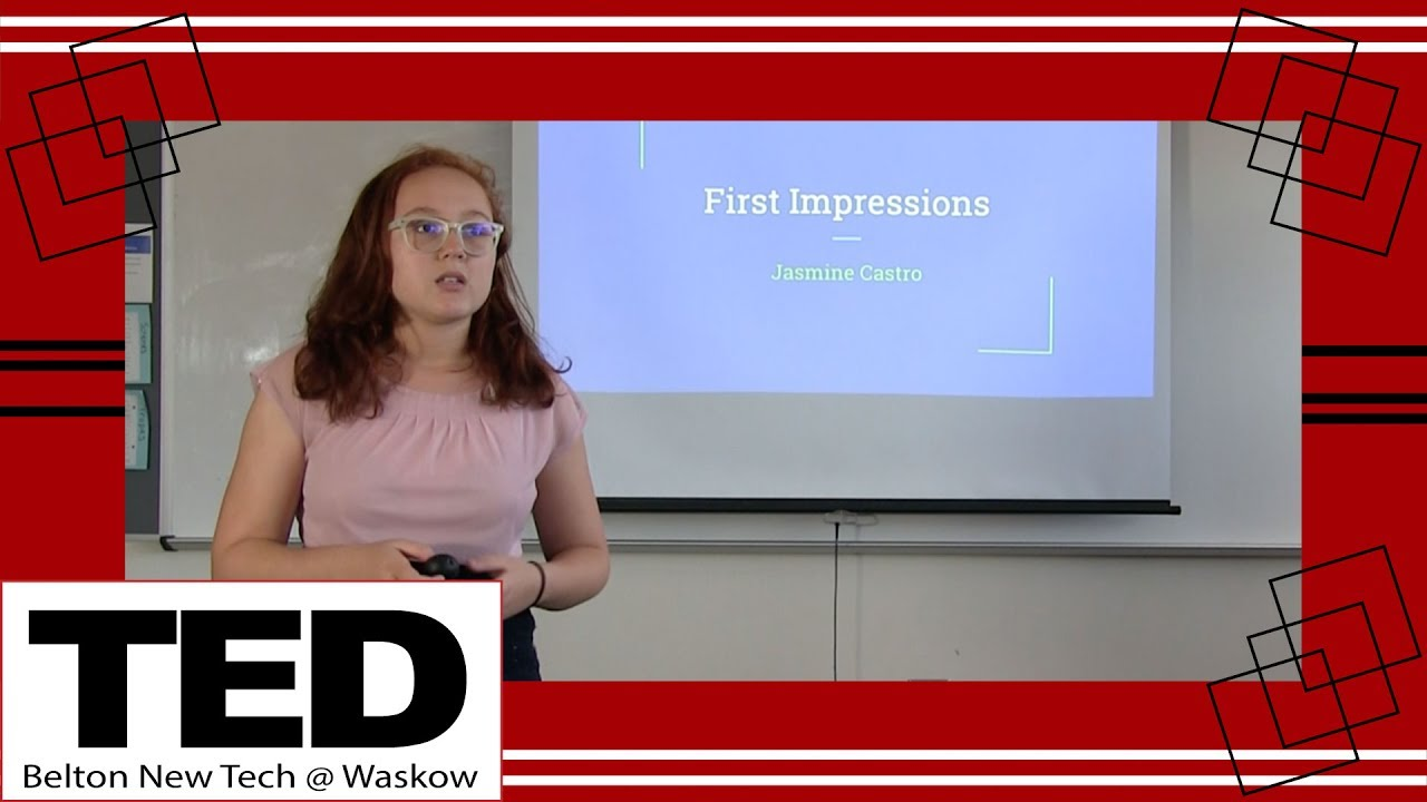 Ted talk first impressions