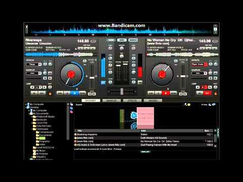 Virtual DJ: My First Mix Ever [Umaaraw Umuulan - Rivermaya][Practice Only]