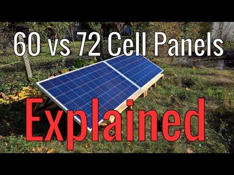 60 vs 72 Cell Solar Panels Explained