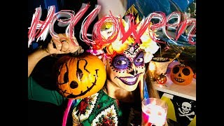 "ВЛОГ:🎃 Helloween МАКИЯЖ НА ХЭЛЛОУИН🎃""Dia De Los Muertos"""