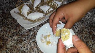 اللي مازال ماوجدتش حلوى العيد تدخل هنا  بوسو لا تمسو يذوب في الفم ويقطعلك 70 حبة- فيديو مشترك -