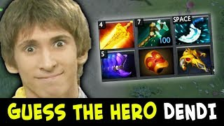 You will never guess hero with THIS BUILD by DENDI
