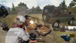 Demolition Derby w/ Shotguns - PlayerUnknown's BattleGrounds
