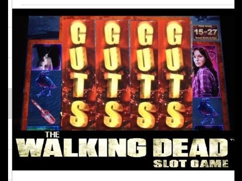 new walking dead slot machine