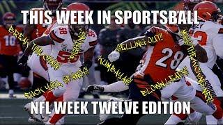 This Week in Sportsball: NFL Week Twelve Edition