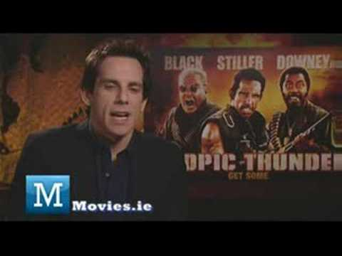 Ben Stiller - Fun Interview with the star of Tropic Thunder, Greenberg & Zoolander 2