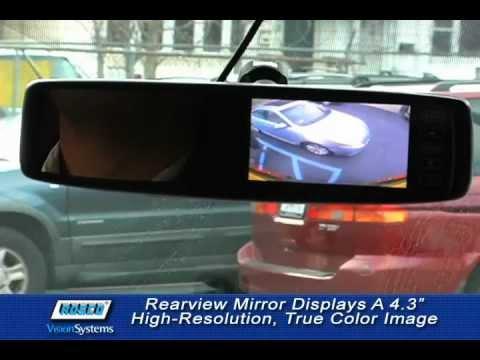 hqdefault rosco smart vision™ rearview backup camera systems mirror monitor rosco backup camera wiring diagram at reclaimingppi.co