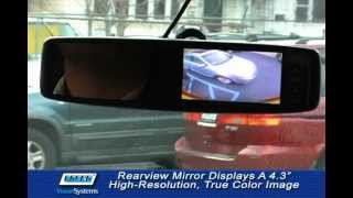 Rosco Smart-Vision™ Rearview Backup Camera Systems Mirror/Monitor