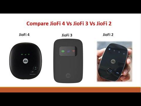 Reliance JioFi 4 vs JioFi 3 vs JioFi 2 Comparison With Full Details -  YouTube