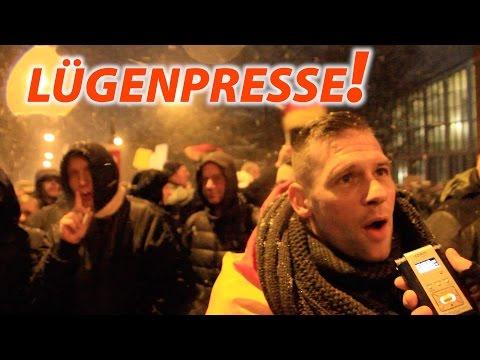 """""""Warum lügt die Presse so?"""" – """"Diese Arschlöcher!"""" – Lügenpresse? Pressefreiheit?"""