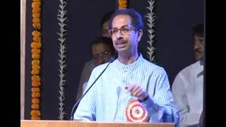 Uddhav Thackeray speech on Marathi Bhasha Din -Rang Sharda