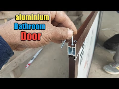 Aluminium Door Making || How To Make Aluminium  Door