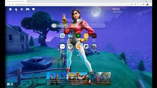 Amazing New Skin In Fortnite, Rox HD Wallpaper For Chrome!
