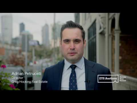 EYS Auctions - Client Testimonial / Adrian Petrucelli / Greg Hocking Real Estate