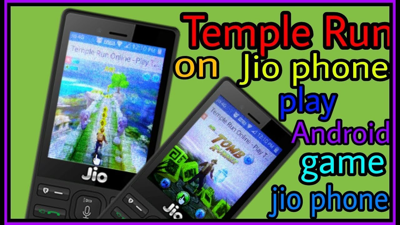 Temple Run Jio Phone Me Temple Run Game Play Androidcitychannel