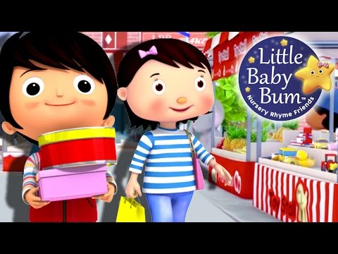 Thumbnail: To Market To Market | Nursery Rhymes | Original Version By LittleBabyBum!