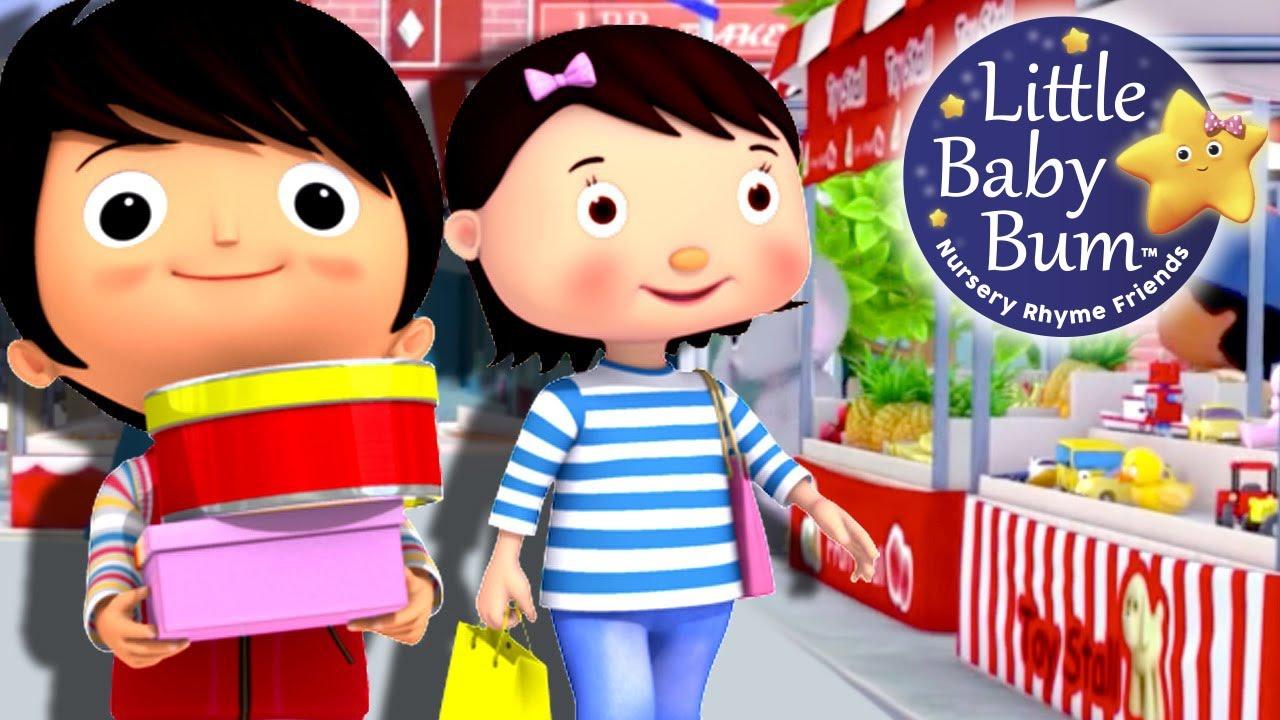 little baby bum tomarket to market nursery rhymes for babies videos for kids youtube. Black Bedroom Furniture Sets. Home Design Ideas