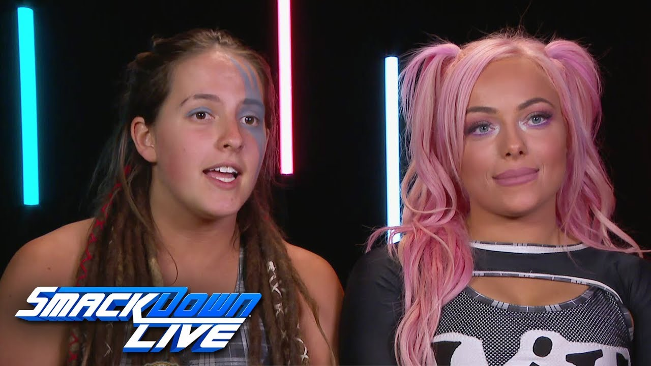 Raw's teams on becoming the first Women's Tag Team Champions: SmackDown LIVE,  Feb. 12, 20