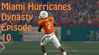 NCAA Football Dynasty Mode | Hard Hitting Trap Game | Its All About The U