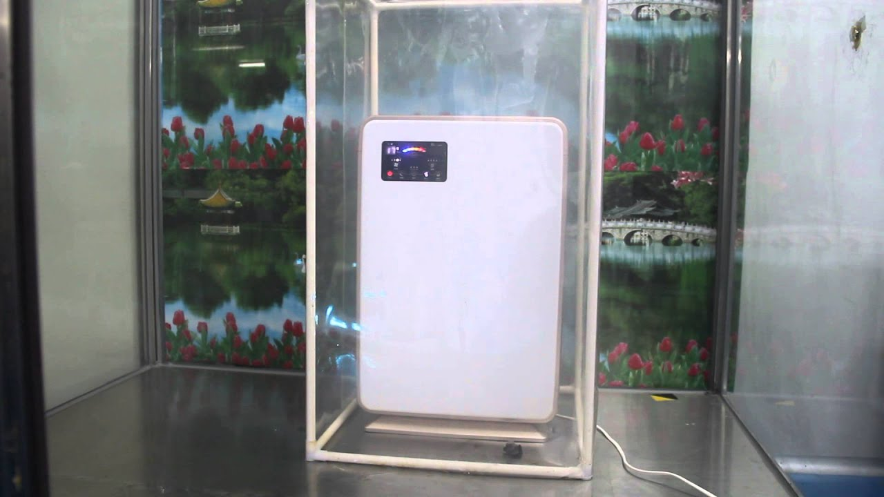 Gruenluft air purifier VK-6006D smoke removing