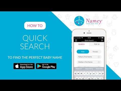 How to use 'Quick Search' to find the perfect baby name