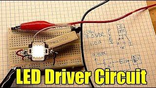 Hoe maak je een LED-driver circuit