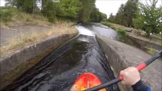 Alton Baker Park Canoe Canal to Willamette River Loop - Oregon Whitewater Kayaking